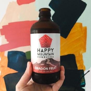 Happy Mountain Dragon Kombucha
