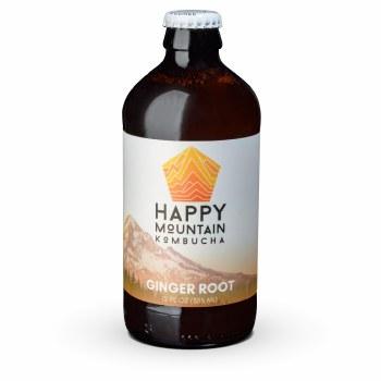 Happy Mountain Ginger Kombucha