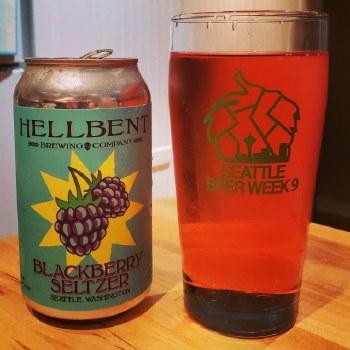 Hellbent Blackberry Seltzer