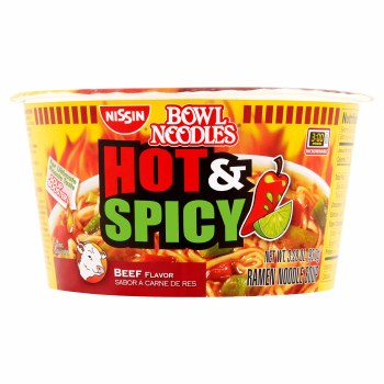 Nissin Hot &spicy Beef