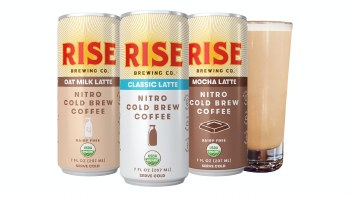 Rise Nitro Coffee Black