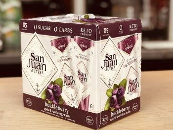 San Jaun Huckle Berry Seltzer
