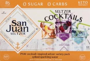 San Juan Seltzer 12pk