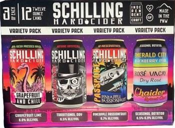 Schilling Cider 12 Variety Pk