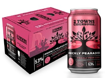 2 Towns Prickly Paradise Cider