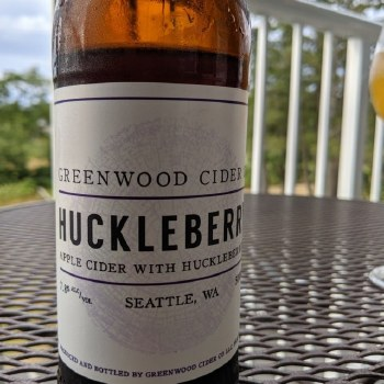 Greenwood Cider Huckleberry