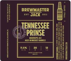 Brewmaster Jack Tennessee Quad