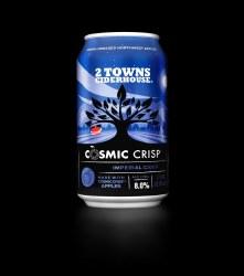 2 Towns Cosmic Crisp Cider