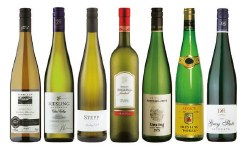 Brand Riesling Feinherb Wine