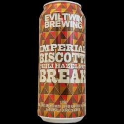 Eviltwin Hazelnut Biscotti 4pk
