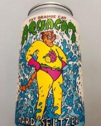 Fat Orange Cat Aquacat Seltzer