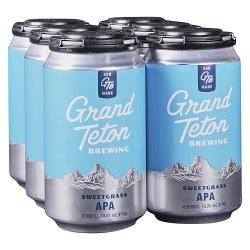 Grand Teton Sweetgras Pale Ale