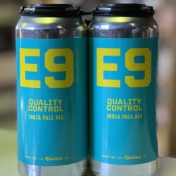 E9 Quality Control Ipa