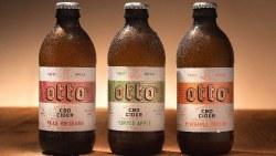 Otto Cider Pear Rhubarb