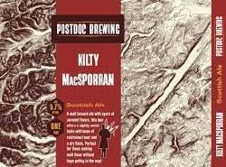Postdoc Kilty Macsporran S.A.