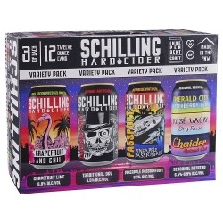 Schilling Cider Variety Pack
