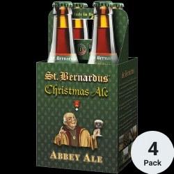 St Bernardus Christmas Ale 4pk