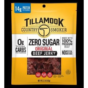 Tillamook Zero Sugar Jerky