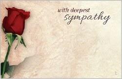 CARDS/DEEPEST SYMPATHY