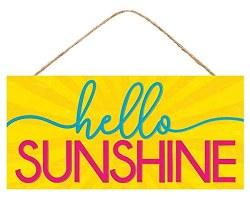HELLO SUNSHINE SIGN