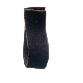 Dark Bark Stretch Velvet Ribbon 16 mm