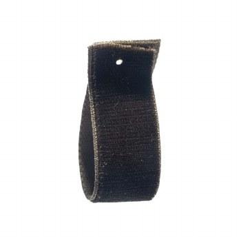 Brown Stretch Velvet Ribbon 16 mm