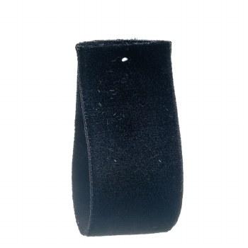 Black Stretch Velvet Ribbon 22 mm