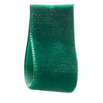 Blue Grass Single Sided Velvet Ribbon 36 mm
