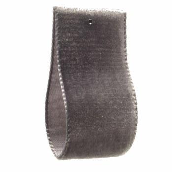 Flint Single Sided Velvet Ribbon 5 mm