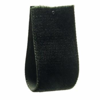 Dark Fern Single Sided Velvet Ribbon 50 mm