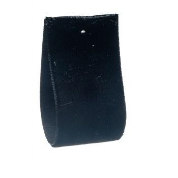 Black Velvet Ribbon 24 mm