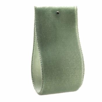 Light Aquamarine Single Sided Velvet Ribbon 10 mm