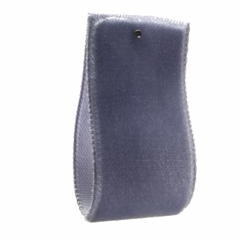 Hyacinth Blue Single Sided Velvet Ribbon 10 mm
