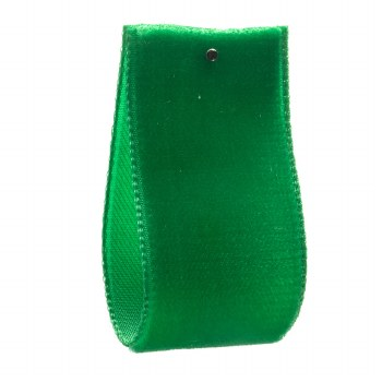 Emerald Single Sided Velvet Ribbon 22 mm