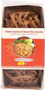 Rice Noodles Organic Quinoa & Brown 180g