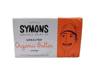 Butter Unsalted 250G Symons