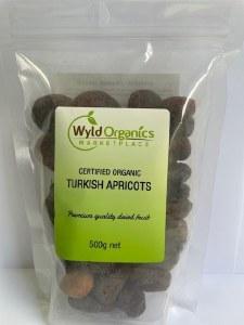 Wyld Apricots Organic 500g