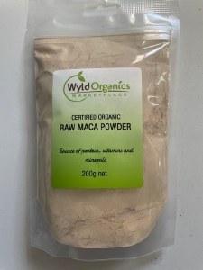 Wyld Maca Powder Organic 200g