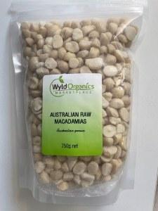 Wyld Macadamias Raw 750g