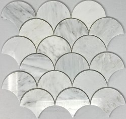 ORIENTAL WHITE SHELL MARBLE