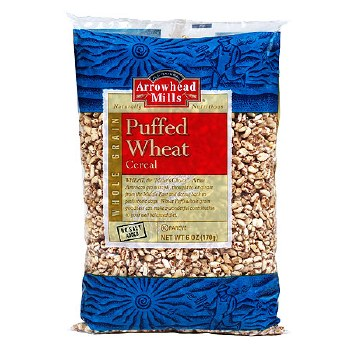 Arrowhead Mills No Salt Puffed Wheat Cereal, 6 oz.