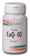 Solaray CoQ10 30mg 60 capsiules