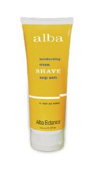Alba Mango Vanilla Shaving Cream, 8 oz.