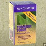 New Chapter Turmeric Force 400 mg 60 soft gels