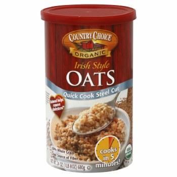 Country Choice Organics Steel Cut Quick Oats 12 oz