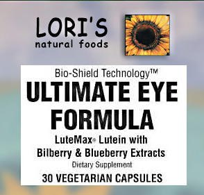 Lori's Ultimate Eye Formula 60 vegetarian capsulse