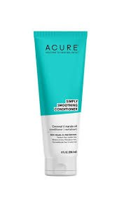 Acure Simply Smoothing Coconut & Marula Oil Conditioner, 8 oz.