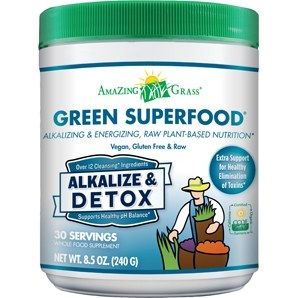 Amazing Grass Alkalize & Detox Green Superfood, 8.5 oz.