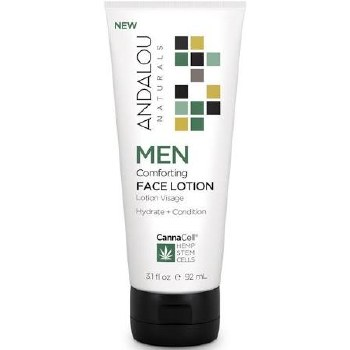 Andalou CannaCell Comforting Men Face Lotion, 3.1 oz.