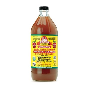 Bragg  Organic Apple Cider Vinegar Miracle Cleanse Concentrate, 32 oz.